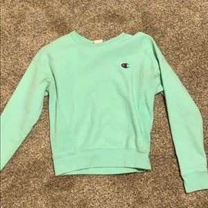 Teal champion pullover !